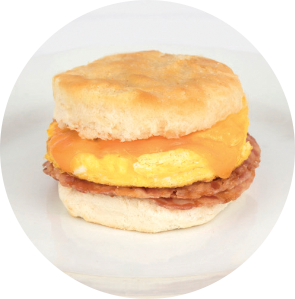 Applewood Bacon Biscuit Sandwich