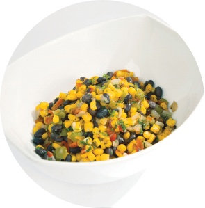 Flame Roasted Corn and Black Bean Fiesta Blend