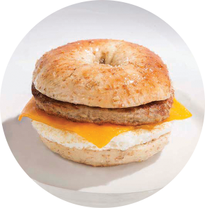 New York Bagel Sandwich