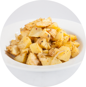 Yukon Gold Seasoned Potatoes circle image